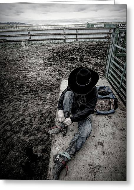 Rodeo Rider Greeting Card