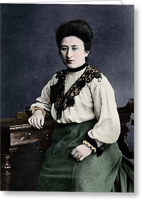 Rosa Luxemburg Greeting Card
