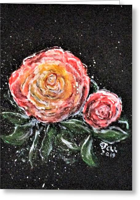 Rose In Light Greeting Card