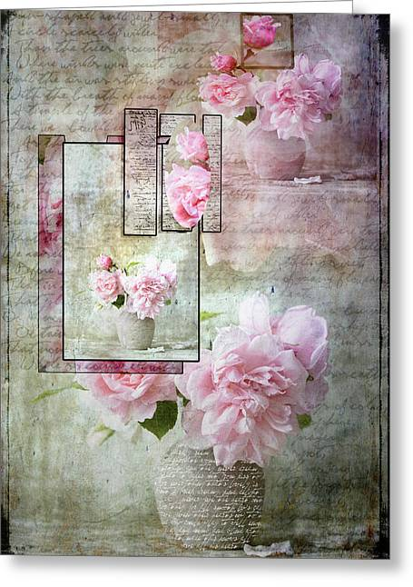 Roses On Roses Greeting Card