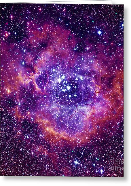 Rosetta Nebula Greeting Card