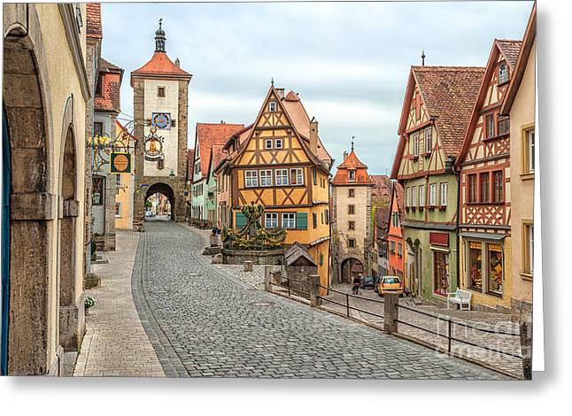 Rothenburg Ob Der Tauber, Famous Greeting Card