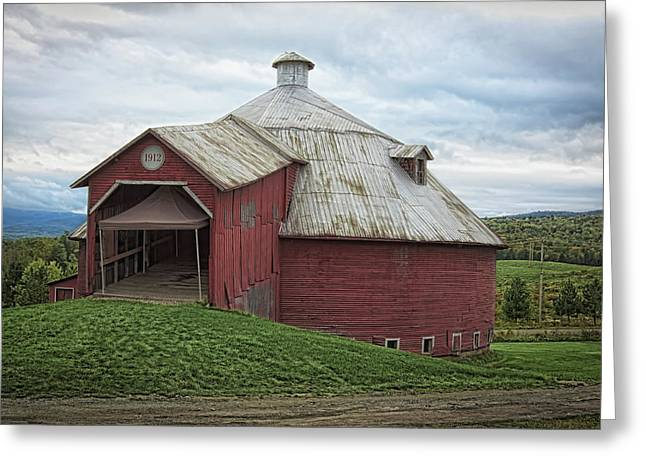 Round Barn - Mansonville, Quebec Greeting Card
