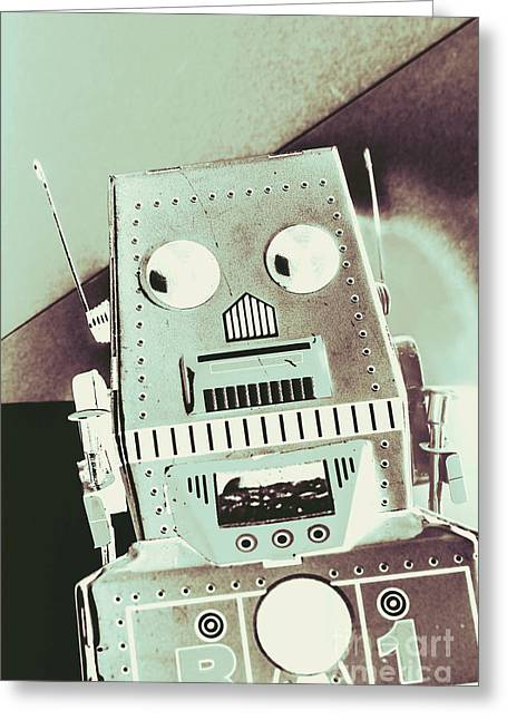 Rover 001 Greeting Card