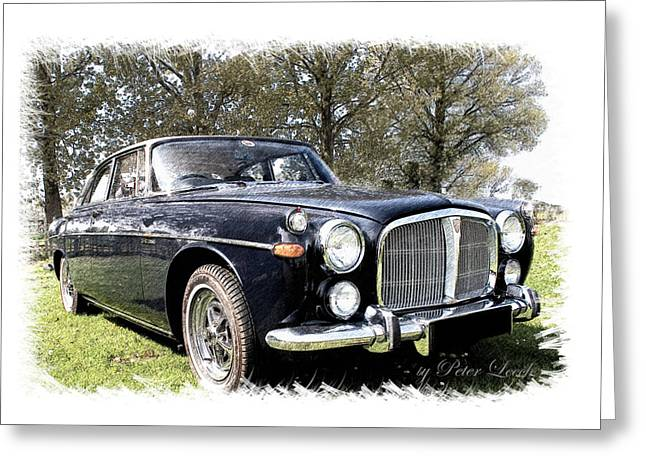 Rover 3.5 Coupe Greeting Card