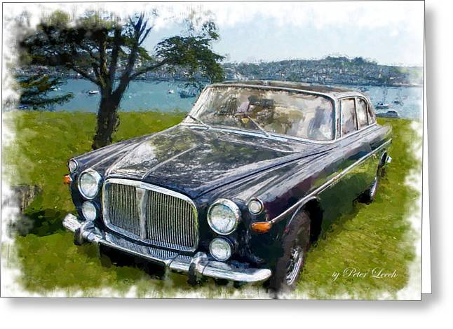 Rover 3.5 P5b Greeting Card