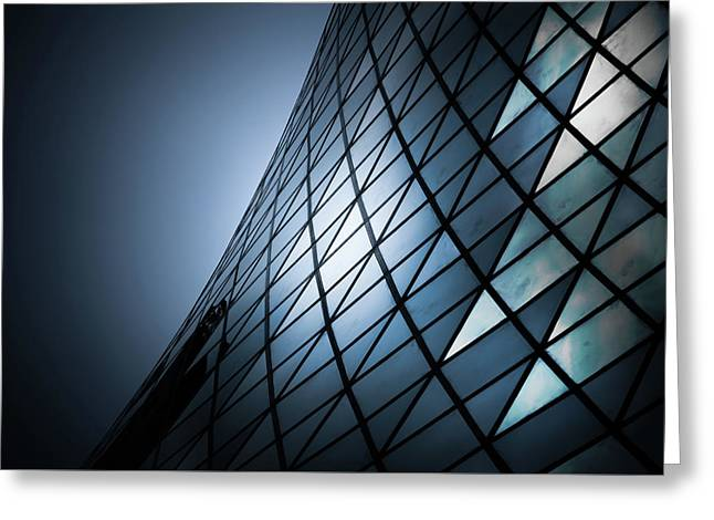 Greeting Card featuring the photograph Roy Thomson Hall Toronto Canada No 2 by Brian Carson