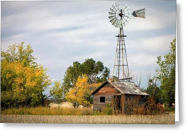 Rural North Dakota Greeting Card