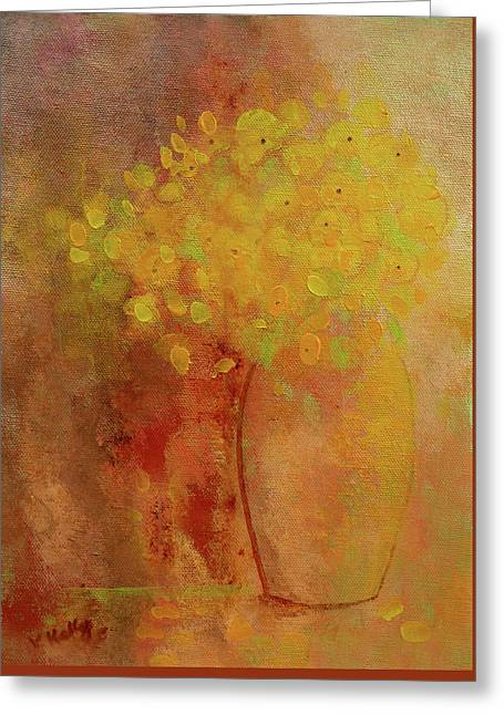Greeting Card featuring the painting Rustic Still Life by Valerie Anne Kelly