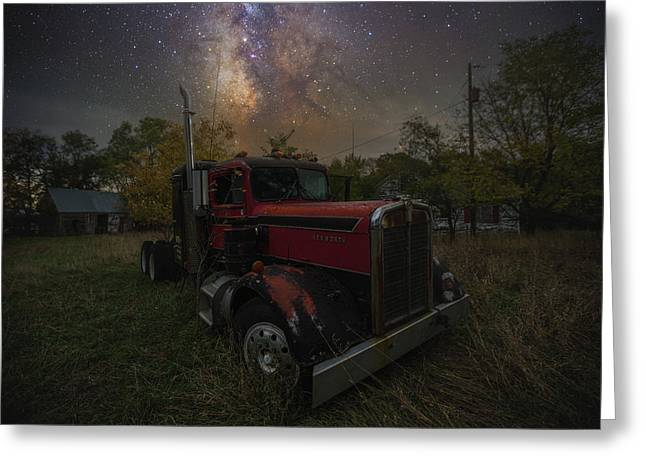 Greeting Card featuring the photograph Rusty  by Aaron J Groen