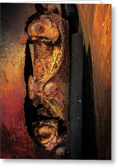 Rusty Colours Greeting Card