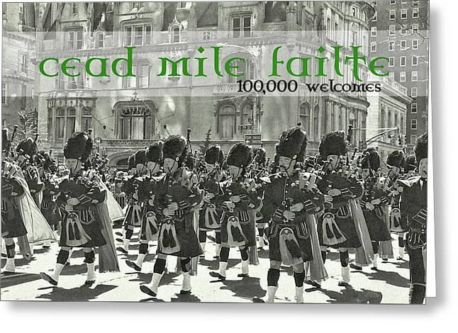 Saint Patricks Day Quote Greeting Card