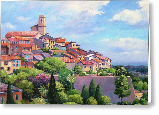 Saint Paul De Vence Square Greeting Card