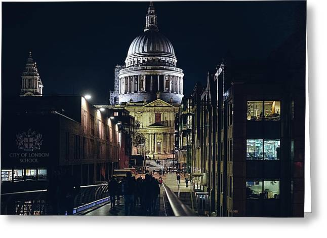 Saint Pauls Cathedral Greeting Card