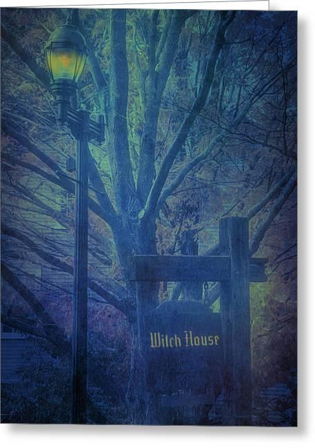 Salem Massachusetts  Witch House Greeting Card