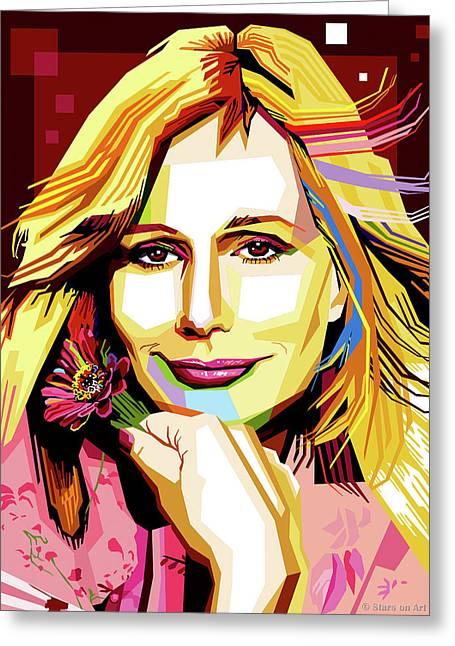 Sally Kellerman Greeting Card