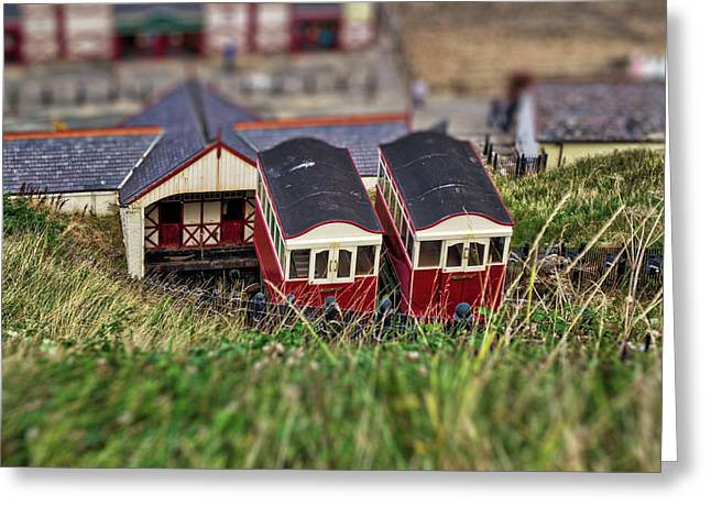 Saltburn Tramway Greeting Card