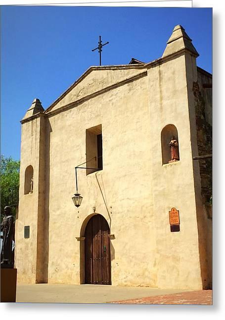 San Gabriel Mission No. 1 Greeting Card