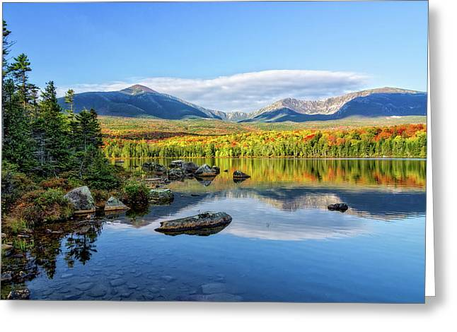 Sandy Stream Pond Baxter Sp Maine Greeting Card