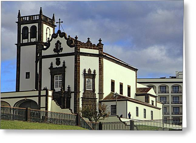 Greeting Card featuring the photograph Sao Pedro by Tony Murtagh