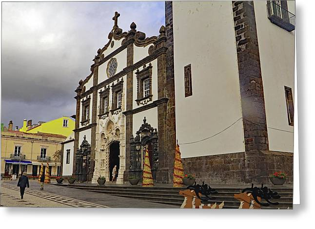 Greeting Card featuring the photograph Sao Sebastiao by Tony Murtagh