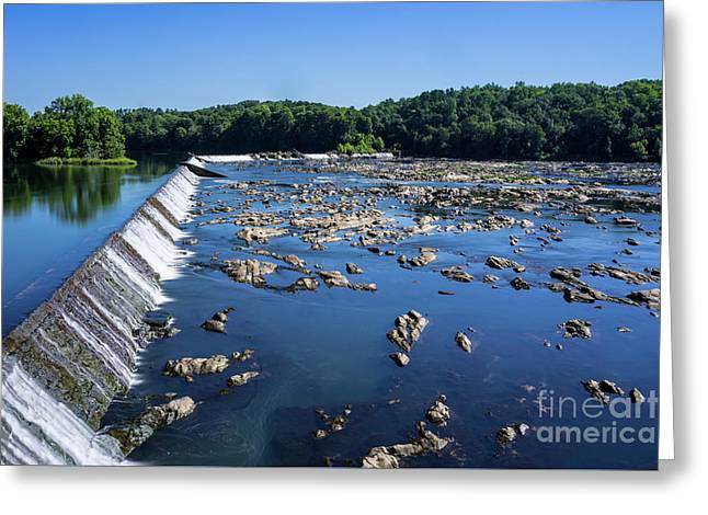 Savannah River Rapids - Augusta Ga 2 Greeting Card