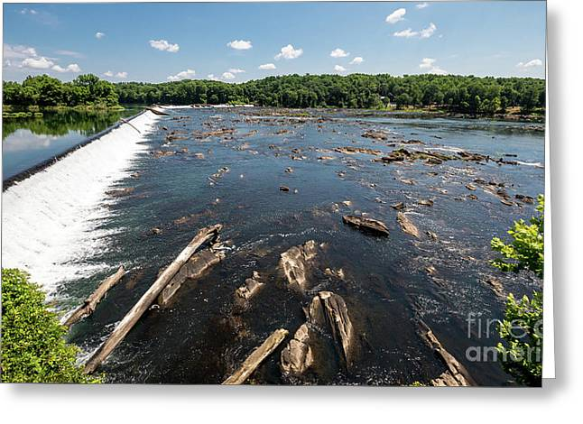 Savannah River Rapids - Augusta Ga Greeting Card