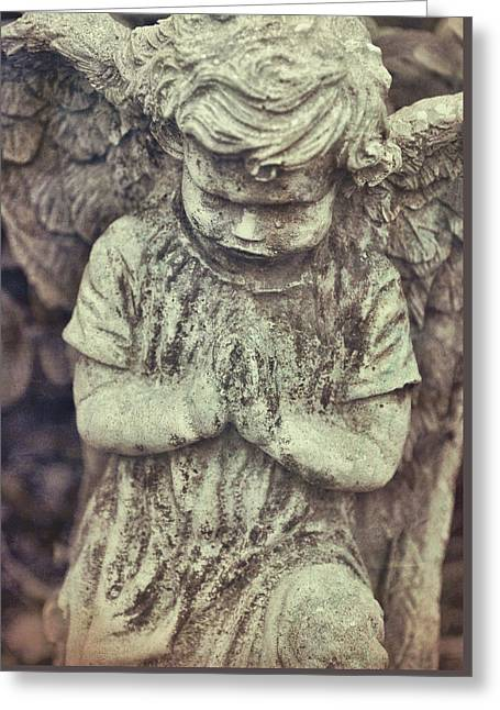 Say A Little Prayer Greeting Card by JAMART Photography