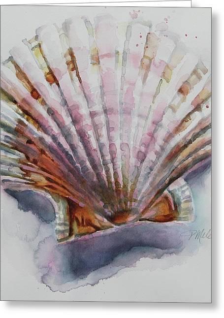 Scallop Seashell Greeting Card