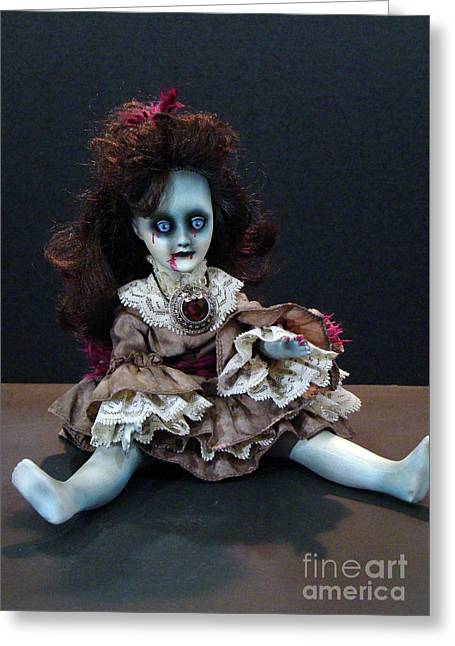Scary Mary Greeting Card