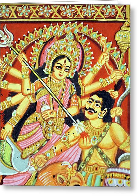 Scenes From The Ramayana Greeting Card