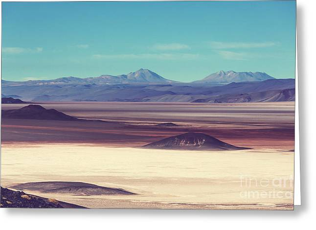 Scenic Landscapes Of Northern Argentina Greeting Card