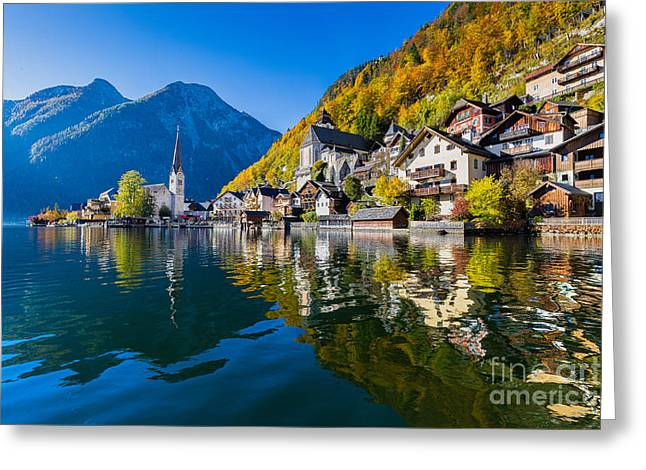 Scenic Picture-postcard View Of Famous Greeting Card