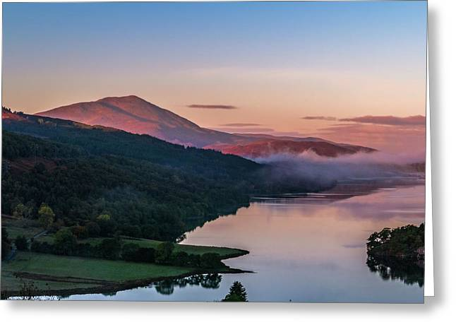 Schiehallion  From Queen's View Greeting Card by David Ross