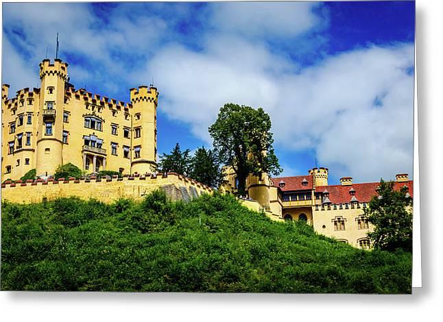 Schloss Hohenschwangau Greeting Card