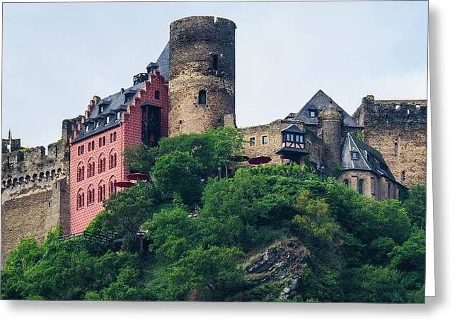 Schonburg Castle Greeting Card