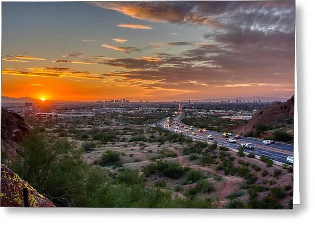 Scottsdale Sunset Greeting Card