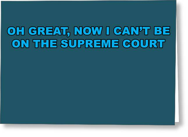Scotus Greeting Card