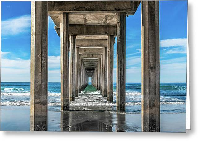 Scripps Pier La Jolla California Greeting Card
