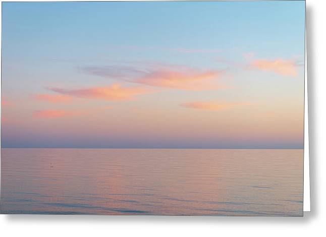 Greeting Card featuring the photograph Sea by Mirko Chessari