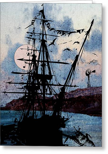 Seafarer Greeting Card