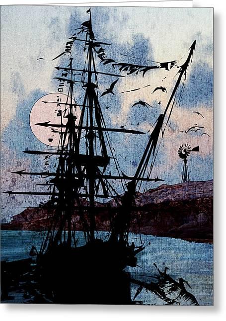 Seafarer Greeting Card