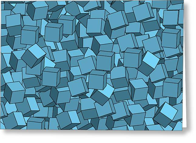 Seamless Vector Abstract Texture Greeting Card