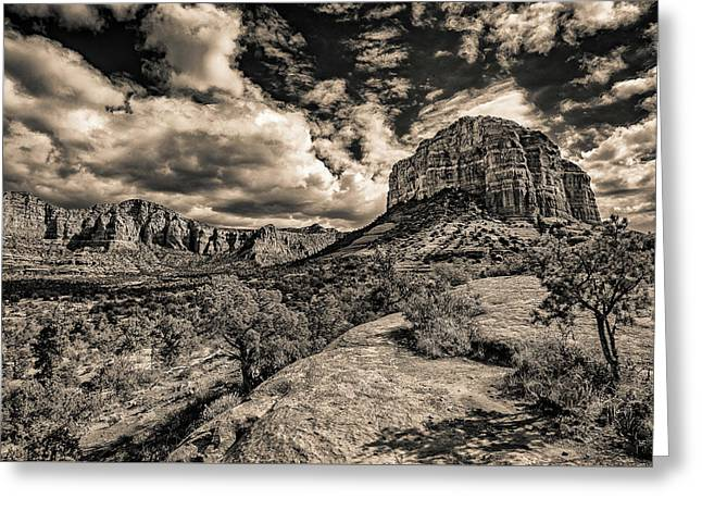 Sedona Landscape 2 Greeting Card