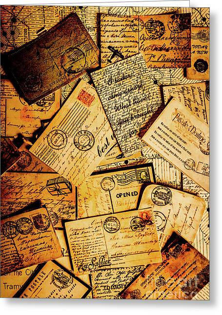 Sentimental Writings Greeting Card