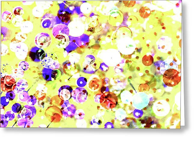 Sequins And Pins 2 Greeting Card
