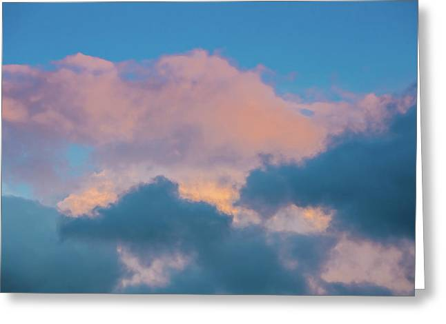 Shades Of Clouds Greeting Card