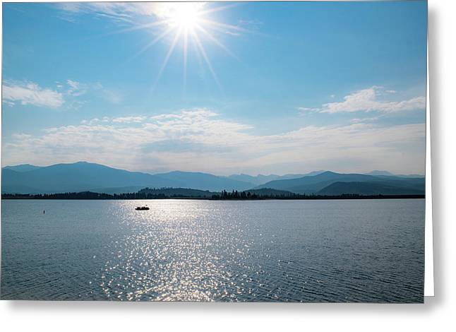 Shadow Mountain Lake Greeting Card