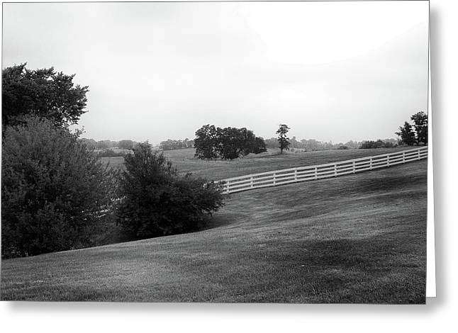 Greeting Card featuring the photograph Shaker Field by Mark Jordan