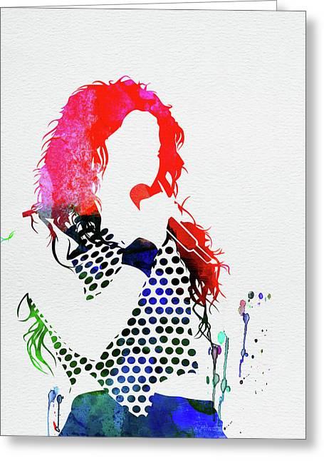 Shakira Watercolor Greeting Card